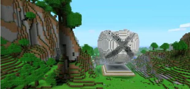 Minecraft no Xbox 360 (Foto: Game Informer)