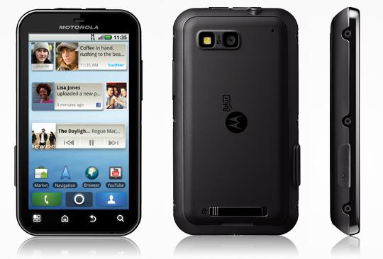Motorola Defy (Foto: Divulgação)
