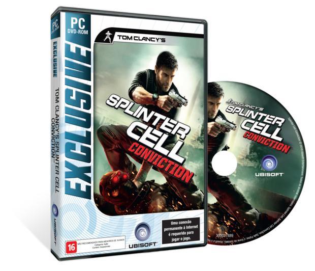 Splinter Cell Conviction - Um dos jogos da linha Ubisoft Exclusive (Foto: Divulgação)