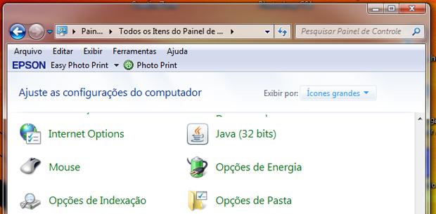 Opções do mouse no Windows 7 (Foto: Reprodução/TechTudo)