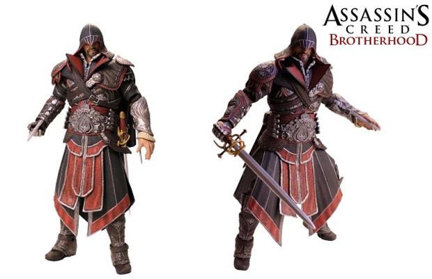 Novo boneco de Ezio (Foto: Divulgação)