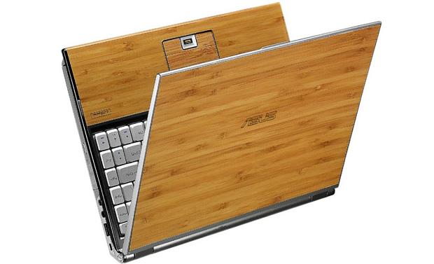 Antecipando o futuro, a ASUS lançou notebook de bambu.  (Foto: Divulgação)