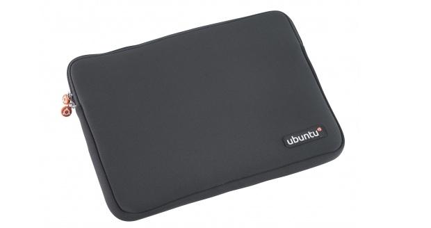 Capa para notebook com a marca Ubuntu (Foto: Divulgação)