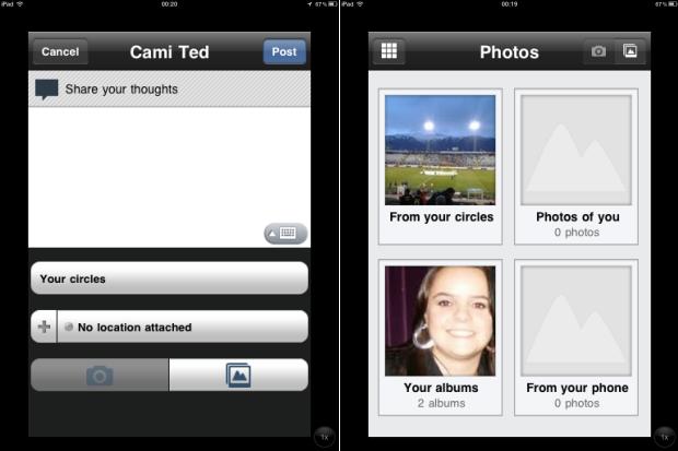 Compartilhando informações e fotos (Foto: Reprodução/Camila Porto)