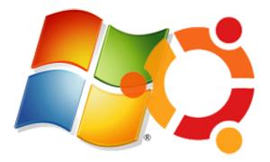 Ubuntu e Windows (Foto: Reprodução)