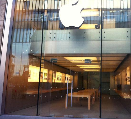A Apple Store de Liverpool está vazia. (Foto: Divulgação)