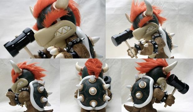 Boneco de Bowser feito por fã impressiona nos detalhes (Foto: Destructoid)