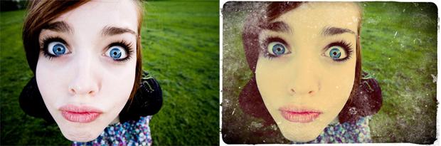 Foto original e com efeitos (Foto: Reprodução/TechTudo)