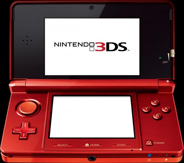 Nintendo 3DS Flame Red (Foto: Divulgação)