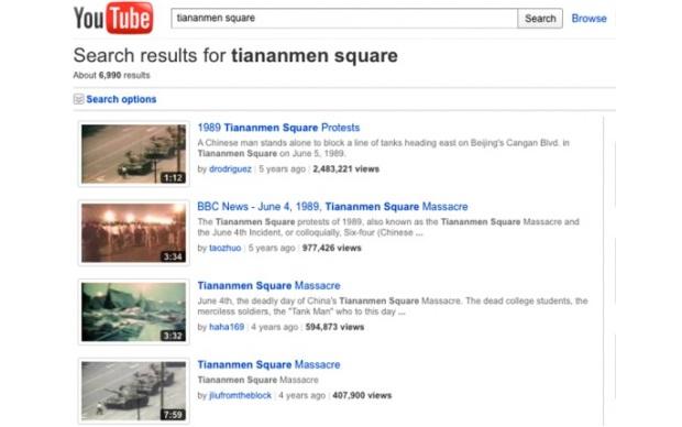 Vídeos censurados no YouTube (Foto: Reprodução)
