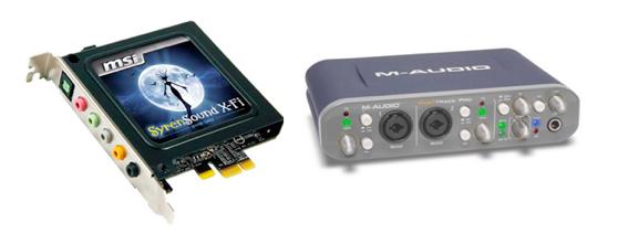 As placas de som off-board podem ser instaladas dentro do gabinete ou até mesmo ter um case externo, em modelos como a M-Audio, muito utilizados por produtores profissionais. (Foto: Divulgação)