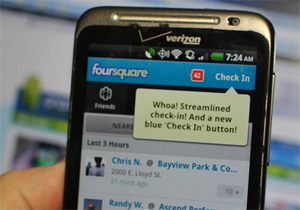 Foursquare para Android (Foto: Android Central)