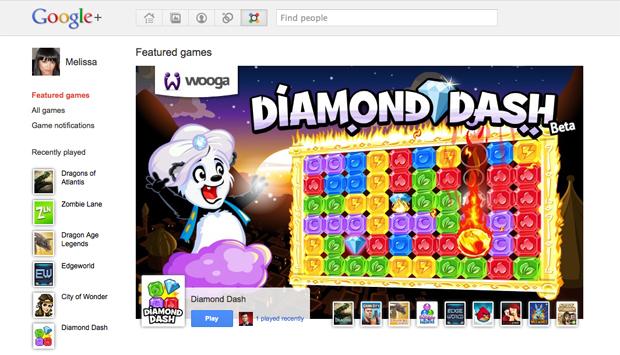 Os jogos sociais chegaram no Google+ (Foto: Divulgação)