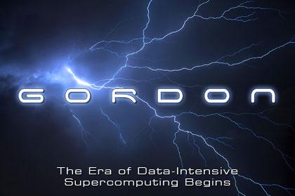 """O cartaz do anúncio do Gordon diz: """"A Era de Supercomputação de Dados Intensivos Começa"""". (Foto: Divulgação)"""