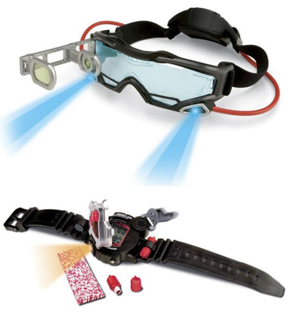 Spy Gear Goggles e Spy Gear Watch (Foto: Divulgação)