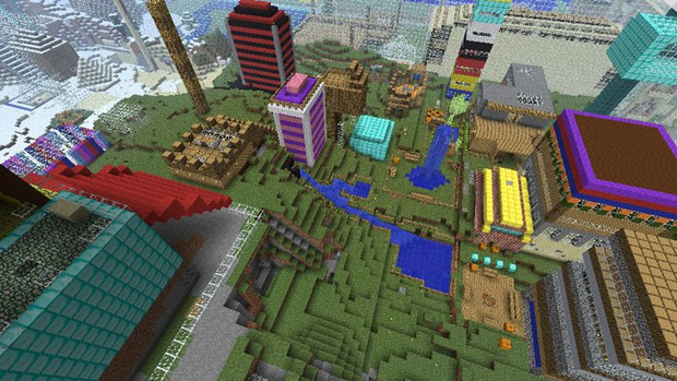 Minecraft permite um mundo de possibilidades (Foto: Divulgação)