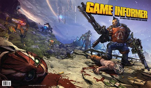 Salvador ilustra a capa da Game Informer (Foto: Divulgação)