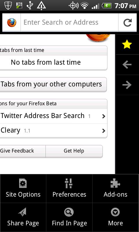 Nova interface do Firefox (Foto: Divulgação)