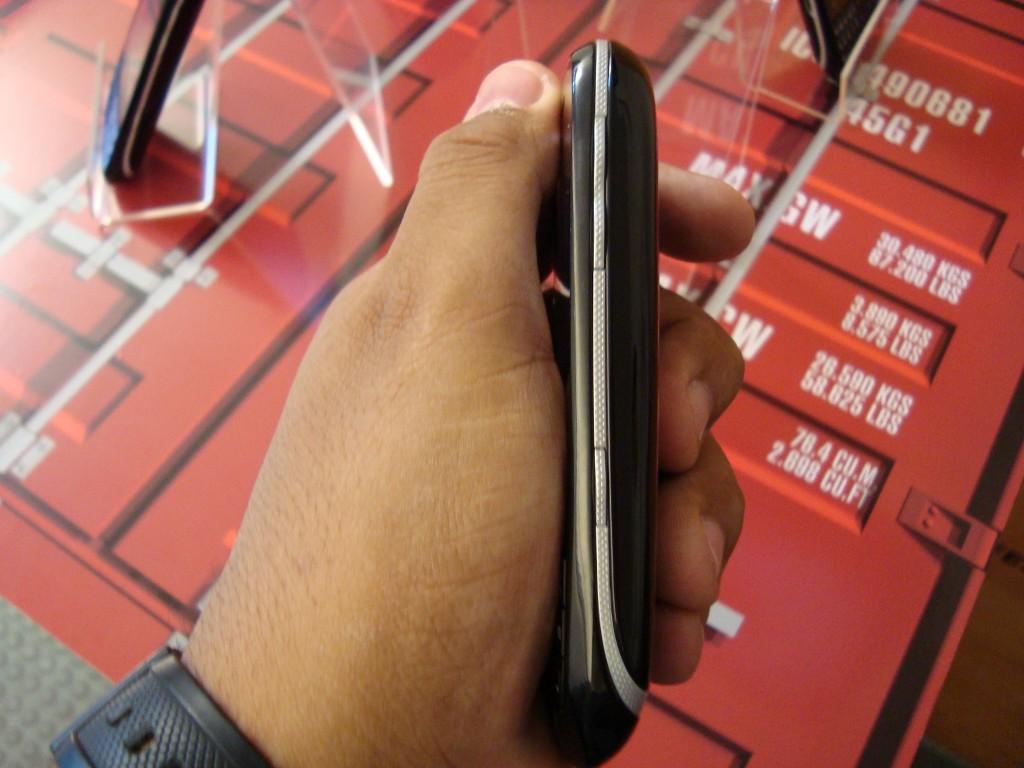 Detalhe lateral do Spice Key (Foto: Eduardo Moreira)