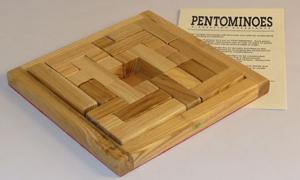 Jogo de origem graga Pentominoes inspira criação do Tetris (Foto: Divulgação)