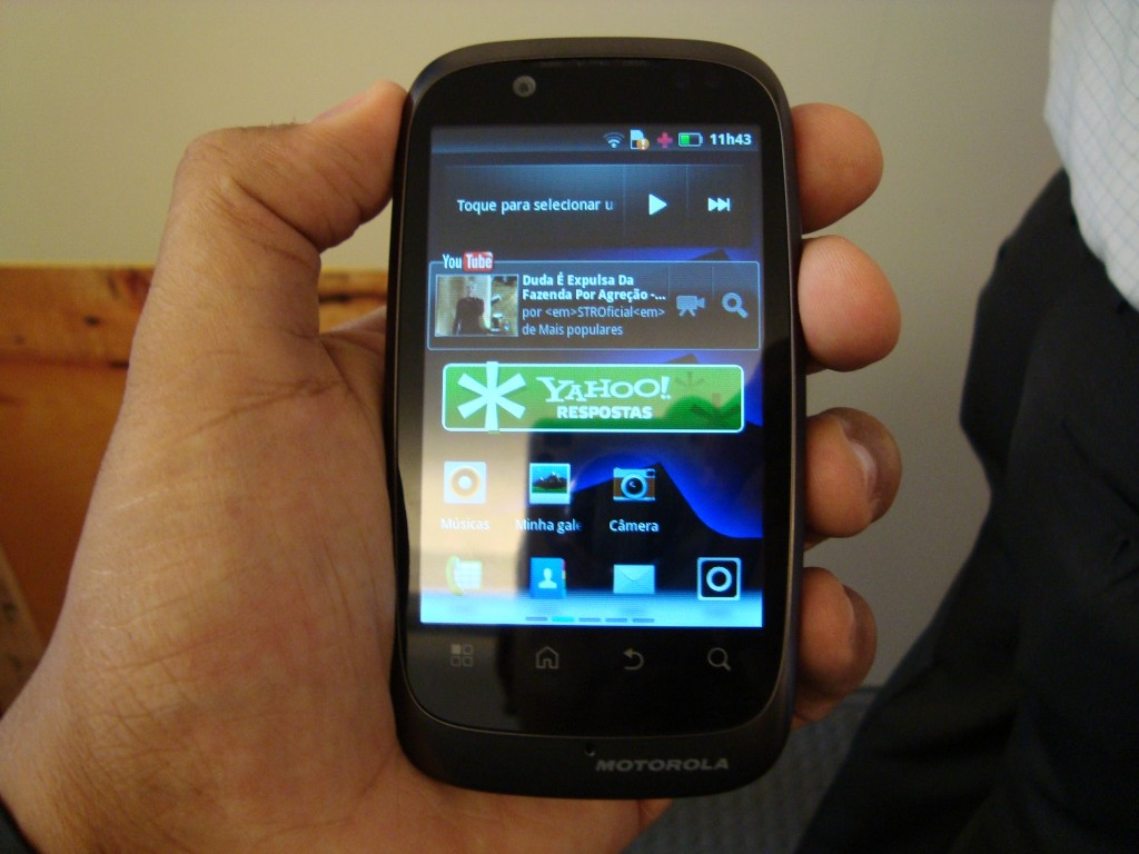 Novo Motorola Spice XT (Foto: Eduardo Moreira)