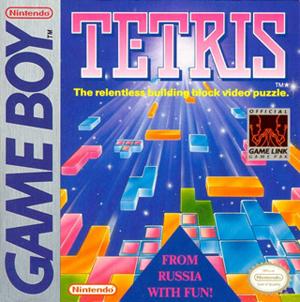Versão do Tetris para GameBoy, da Nintendo (Foto: Divulgação)