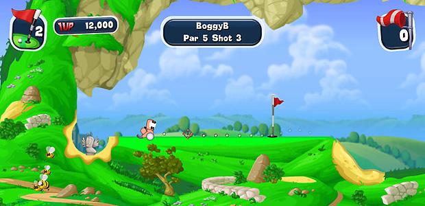 Worms: Crazy Golf  (Foto: Divulgação)