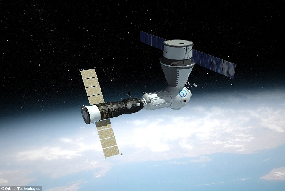 Commercial Space Station. (Foto: Orbital Technologies.)