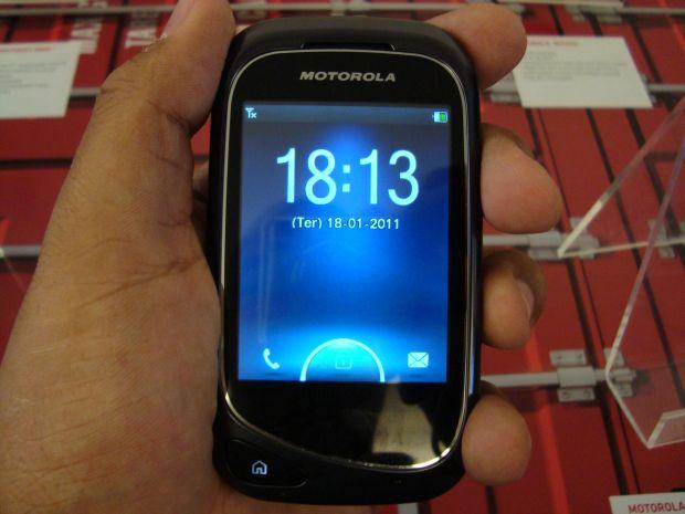 Motorola Screen Mini (Foto: Reprodução/Eduardo Moreira)