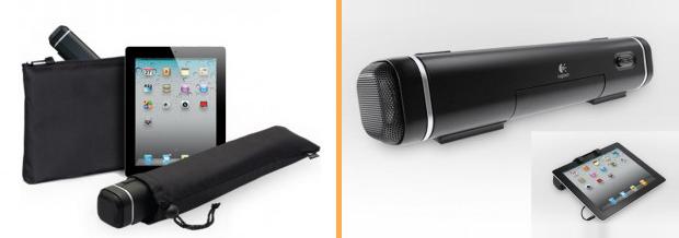 Tablet Speaker e detalhe, à direita (Foto: Divulgação)