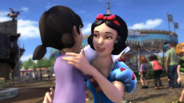 Kinect Disneyland Adventures (Foto: Divulgação)