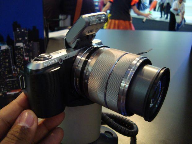Sony NEX-C3 (Foto: Reprodução)