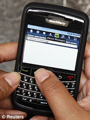 BlackBerry (Foto: Reuters)