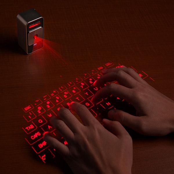 Cube Laser Virtual Keyboard. (Foto: Divulgação)