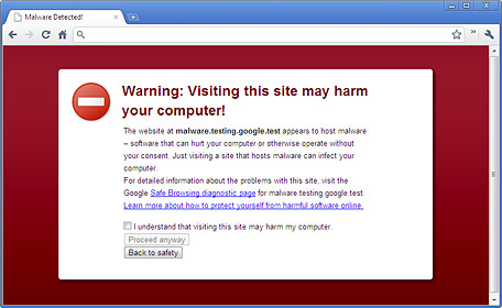 Safe browsing (Foto: Reprodução)