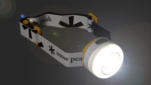 Snow Peak SnowMiner LED Headlamp (Foto: Gizmodo)