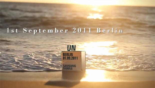 Teaser da Samsung para a IFA 2011 (Foto: Reprodução/TechTudo)