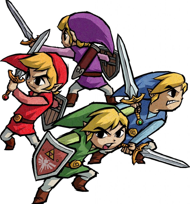The Legend of Zelda: Four Swords (Foto: Divulgação)
