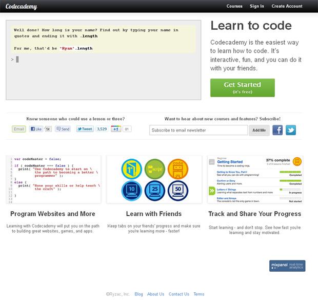 Codeacademy (Foto: Reprodução)