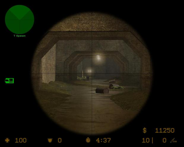 """Um """"sniper"""" em posição de """"camper"""", onde ele espera pacientemente algum alvo aparecer para atirar (Foto: Divulgação)"""