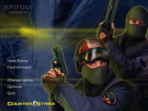 Menu principal de Counter-Strike, uma imagem muito famosa entre os fãs (Foto: Divulgação)