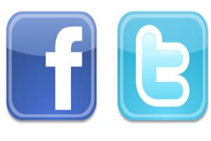 Facebook e Twitter (Foto: Reprodução)