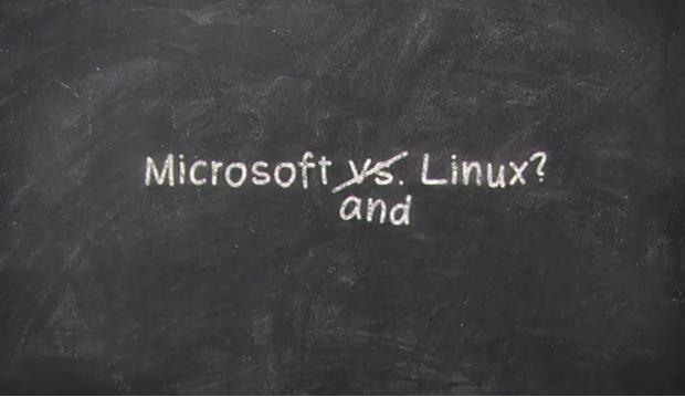 Microsoft sobre os 20 anos do Linux. (Foto: Reprodução)