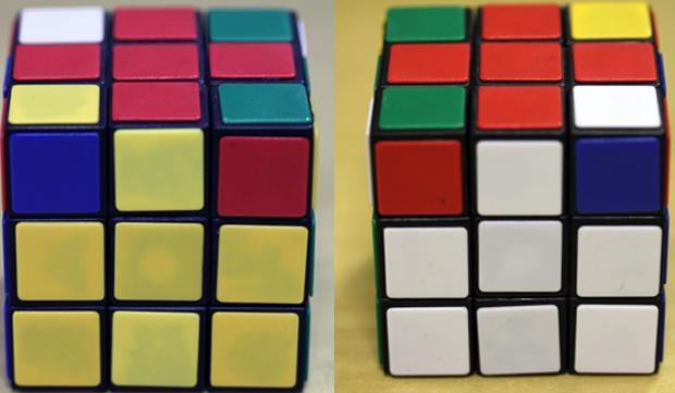 Imagem 11: peças de canto na posição correta nos quatro lados (Foto: Reprodução)
