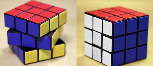 Imagem 14: Cubo Mágico finalizado após a realização de oito passos (Foto: Reprodução)