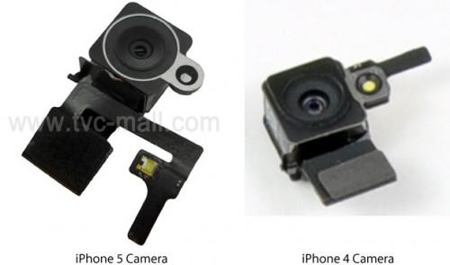 Lentes da câmera do iPhone 5 (Foto: Reprodução)