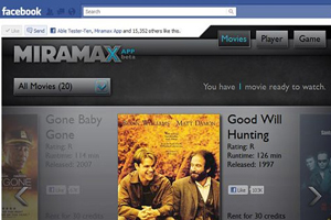 Miramax e Facebook (Foto: Reprodução)