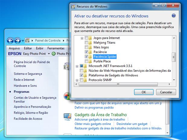 Painel de controle do Windows 7 (Foto: Reprodução)