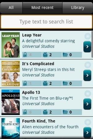 Catálogo de filmes em Blu-ray da Universal Studios (Foto: Divulgação)