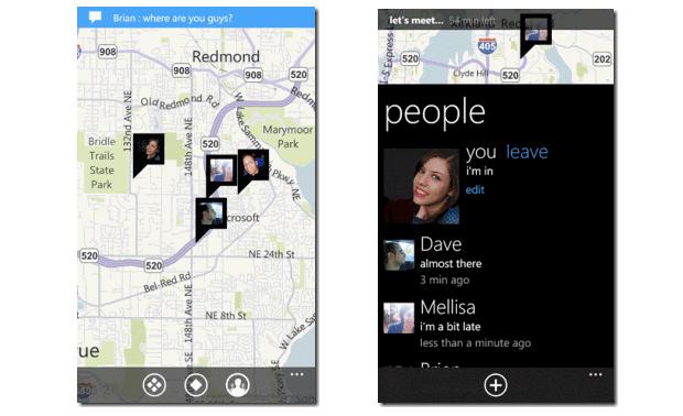 We're In, o Foursquare da Microsoft (Foto: Reprodução)